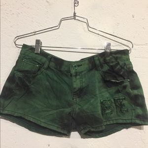 Pants - 2 for $20 (bundle Green Distress cool short